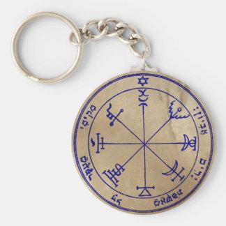 Seventh Pentacle of Jupiter Key Ring