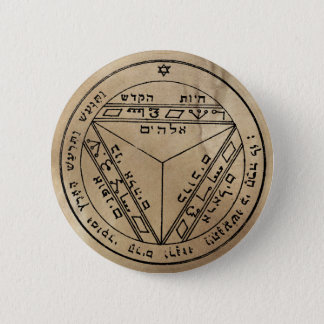Seventh Pentacle of Saturn Button