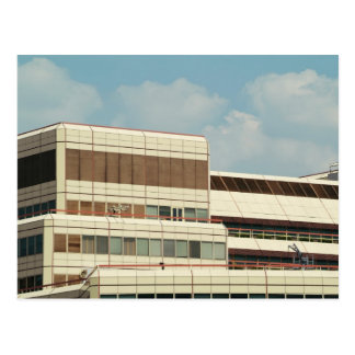 Seventies building post cards