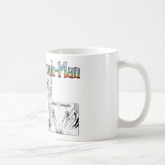 Seventies Funk-Man Basic White Mug