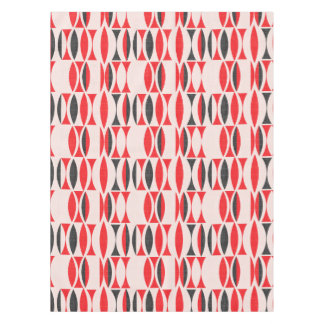 Seventies in Red and Black Tablecloth