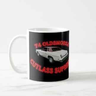 Seventy Four Cutlass Supreme Mug. Basic White Mug