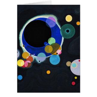 Several Circles Card