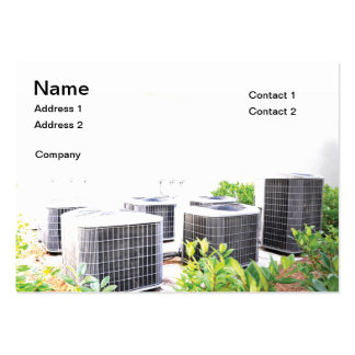 Several outdoor air conditioner units pack of chubby business cards
