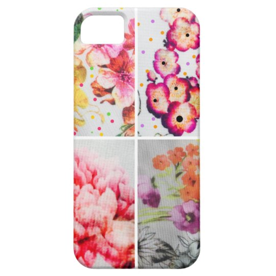 SEVERAL VARIETY FLORALS iPhone 5 CASE