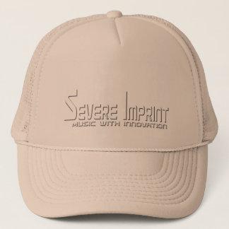 Severe Imprint Tucker Hat, Gold Trucker Hat