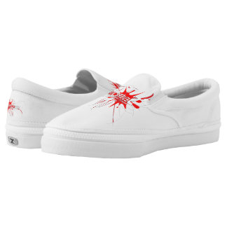 Severe Imprint Zipz Slip On Shoes, Men Women