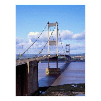 Severn Bridge, Avon, England Postcards
