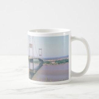 Severn Bridge Basic White Mug