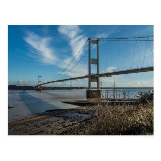 Severn Bridge, Chepstow Postcard