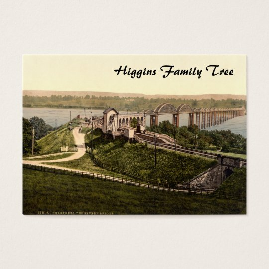 Severn Bridge, Sharpness, Gloucestershire, England Business Card