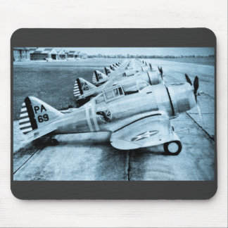 Seversky P-35 Vintage WWII Fighter Planes Mouse Mat