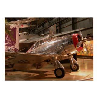 Seversky P-35a Plane Poster