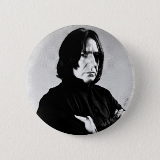 Severus Snape Arms Crossed 6 Cm Round Badge