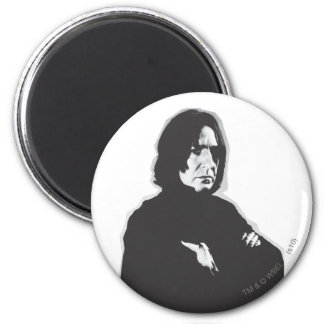 Severus Snape Arms Crossed B-W Magnet