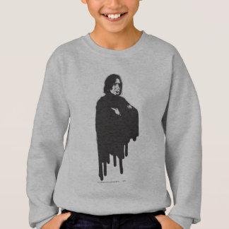 Severus Snape Arms Crossed B-W Sweatshirt