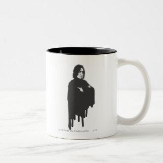Severus Snape Arms Crossed B-W Two-Tone Mug