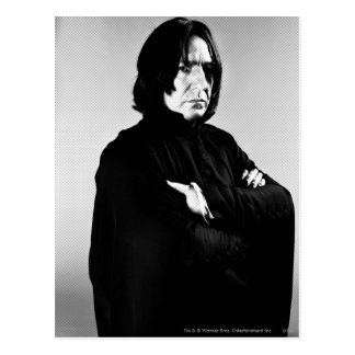 Severus Snape Arms Crossed Postcard