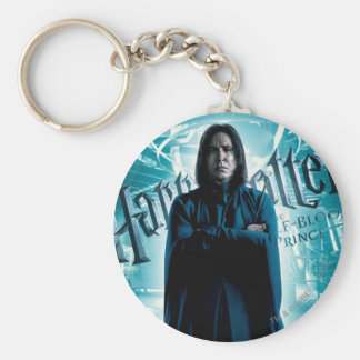 Severus Snape HPE6 1 Basic Round Button Key Ring