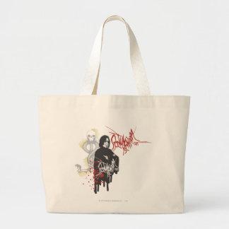 Severus Snape Sectum Sempra Large Tote Bag