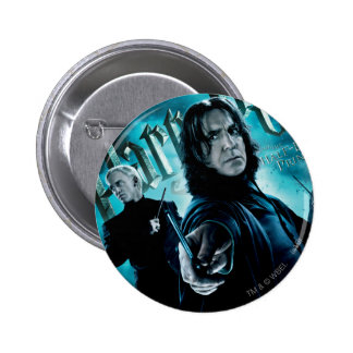 Severus Snape With Death Eaters 1 6 Cm Round Badge
