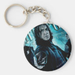 Severus Snape With Death Eaters 1 Basic Round Button Key Ring