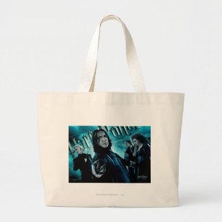 Severus Snape With Death Eaters 1 Large Tote Bag