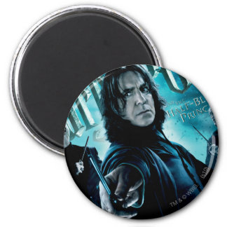 Severus Snape With Death Eaters 1 Magnet
