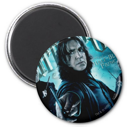 Severus Snape With Death Eaters 1 Fridge Magnets