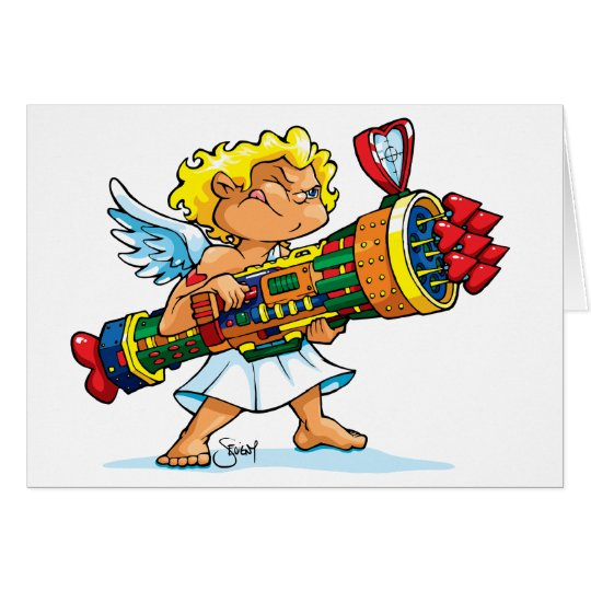 Sevigny_Valentine's Card_Rambo Cupid_No Text Card