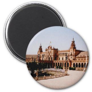 Sevilla 6 Cm Round Magnet