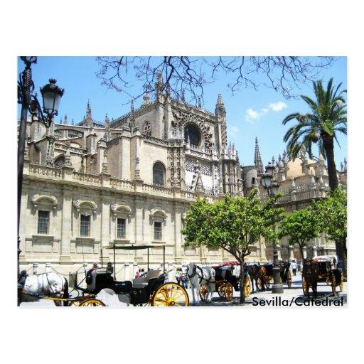 Sevilla/Catedral Post Card