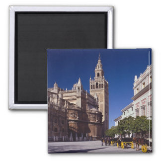 Sevilla, Spain   La Giralda Square Magnet