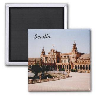 Sevilla Square Magnet