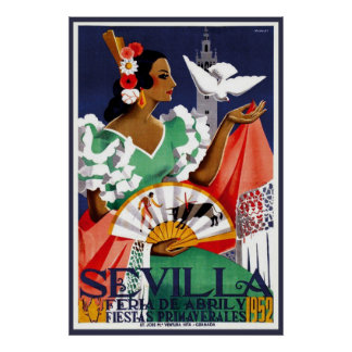 Seville Andalusia Poster