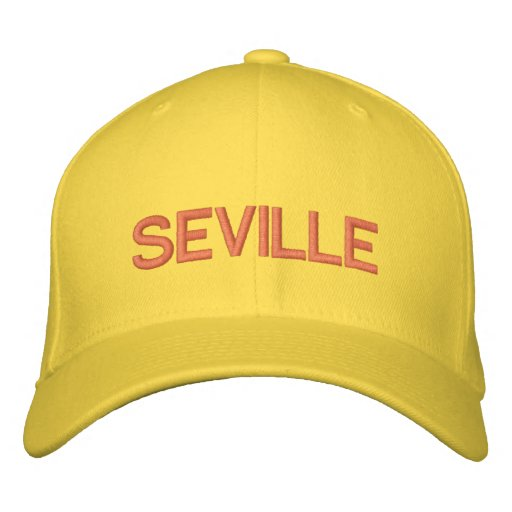 Seville Cap Embroidered Hats