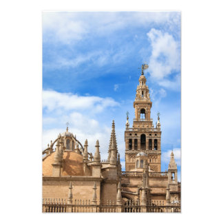Seville Cathedral in Spain Art Photo