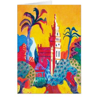 Seville ,Spain. Card