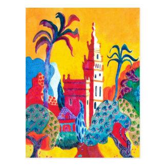 Seville. Spain. Postcard