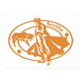 Seville Stamp Postcard