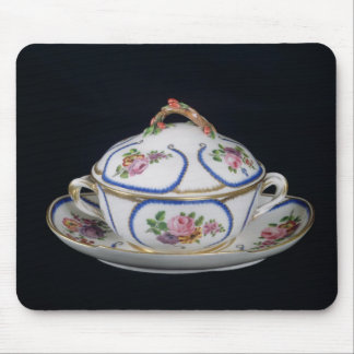 Sevres bowl and plate, 1764 mouse pad