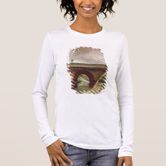 Sevres Bridge (oil on canvas) Long Sleeve T-Shirt