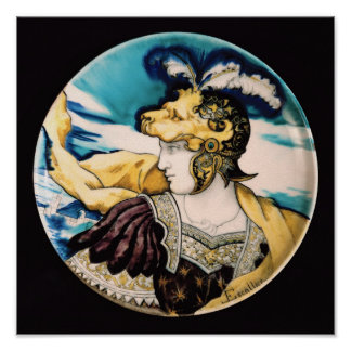 Sevres dish, after Giulio Romano Poster