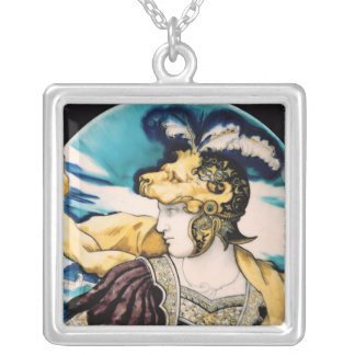 Sevres dish, after Giulio Romano Silver Plated Necklace