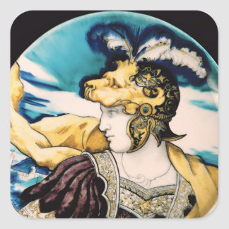 Sevres dish, after Giulio Romano Square Sticker