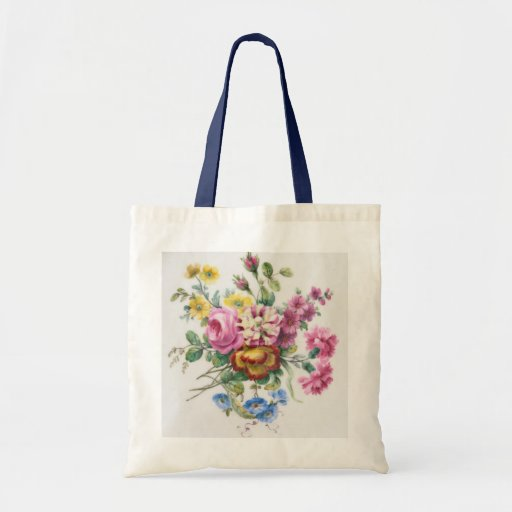 Sevres flower bag - painted in 1776