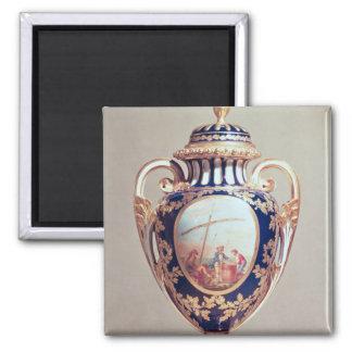 Sevres vase, mid 18th century square magnet