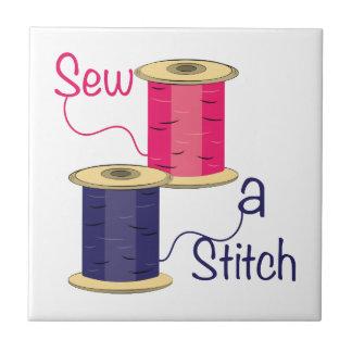 Sew A Stitch Ceramic Tiles