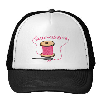 Sew awesome needle and cotton cap