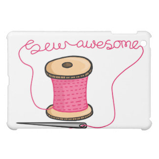 Sew awesome needle and cotton cover for the iPad mini